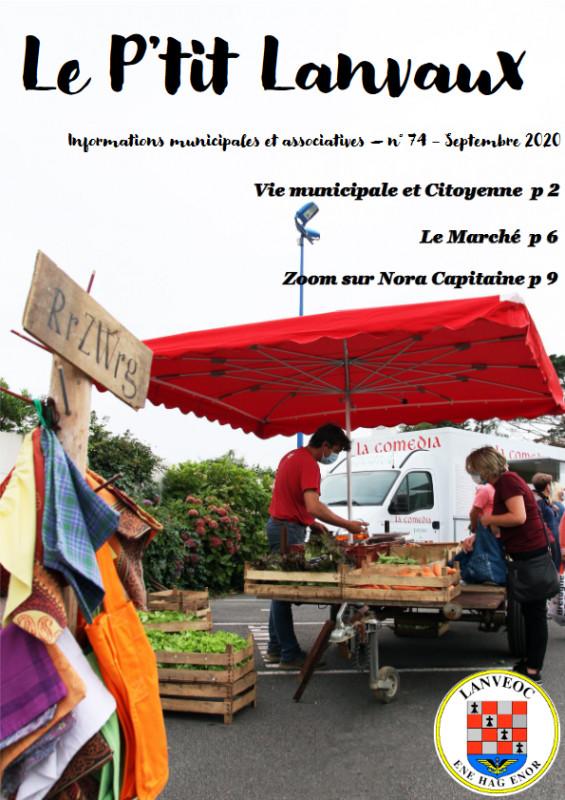 Le P'tit LANVAUX - Septembre / Octobre 2020